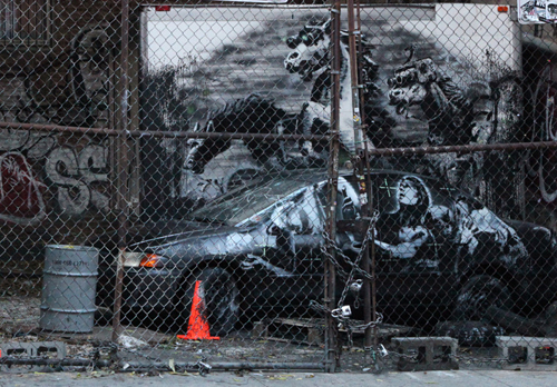 Banksy - Lower East Side