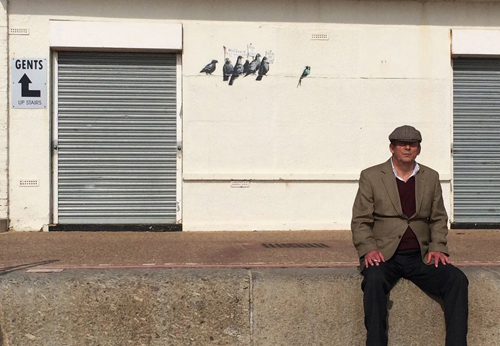 Banksy - Calcton-On-Sea