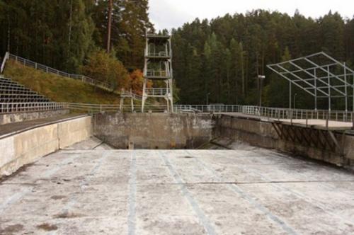 Main Swimming Stadium