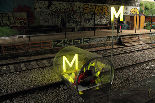 Métronome - the train project, 2012