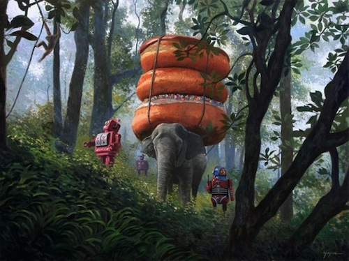 »Jungle Trek«, Eric Joyner, 2011