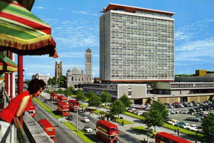 Municipal Offices and Royal Parade Plymouth