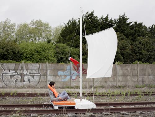 Radeau de Sauvetage, Géographies variables, L'école européenne supérieure d'art de Bretagne, Lorient, 2013