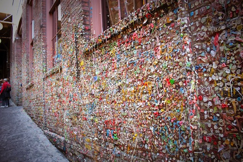 SeattleGumwall1   The Gum Wall