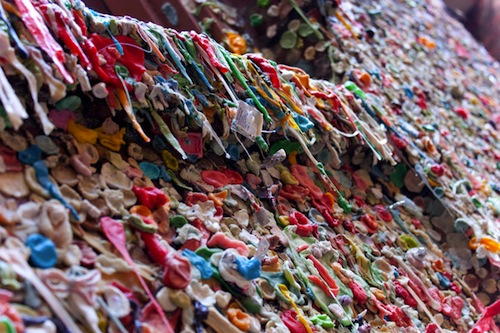 SeattleGumwall2   The Gum Wall