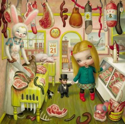 Mark Ryden - Butcher Bunny