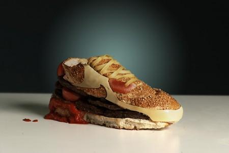 Sneaker Burger by Olle Hemmendorff