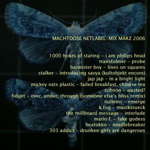 Machtdose Netlabel-Mix März 2006