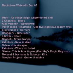 Machtdose Webradio Dez 05