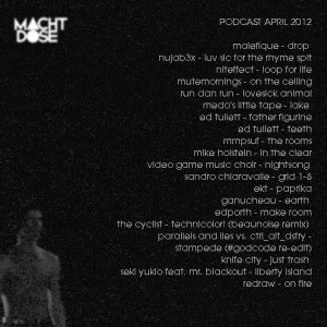Machtdose Podcast April 2012