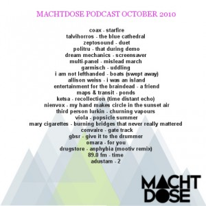 Machtdose Podcast October 2010