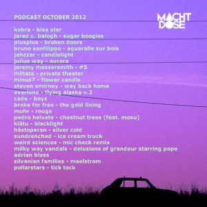 Machtdose Podcast October 2012