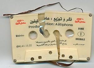 kaputte cassetten